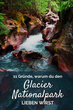 Der Glacier Nationalpark in den USA hat so vieles zu bieten! Abenteurer werden hier ihren Spaß haben!