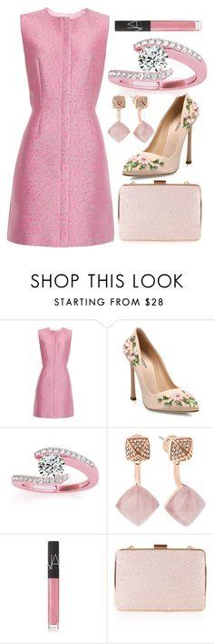 """Classy Pink"" by egordon2 ❤ liked on Polyvore featuring Balenciaga, Giambattista Valli, Allurez, Michael Kors, NARS Cosmetics, Monsoon, Pink, pinksets, pinkoutfit and pinkset"