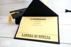 Invito e bomboniera di Laurea