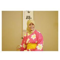 edisi feminin \( ^▽^ )/ #浴衣 #yukata #pupuru #wifirental