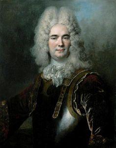 Portrait of a Gentleman, said to be the Chamberlain of Montargu. ca. 1710, by Nicolas de Largillière.