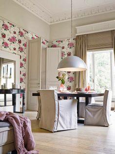Love this wallpaper Floor Wallpaper, Scandinavian Art, Flooring, Traditional, Contemporary, Living Room, Mirror, Interior, Furniture