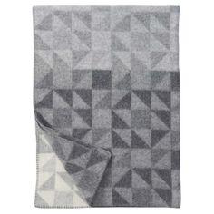 Shape Grey Blanket