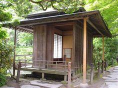 """Dreams: Japanese Tea-House or """"Chashitsu"""""""