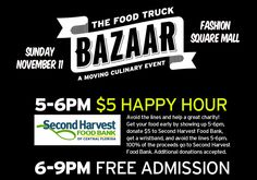 TheDailyCity.com: The Food Truck Bazaar on Sunday Helps Second Harvest Food Bank