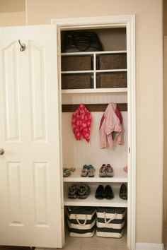 Is Your Coat Closet Small And Cluttered Turn Messy Into An Organized