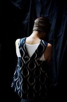 Studio Nicholson ( ENGLAND ) IKAT SUN TOP www.lancah.com