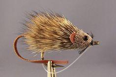 handmade fly fishing mouse / rat