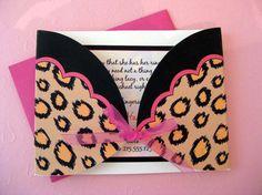 Cute invite idea... Maybe for a bachelorette party?!
