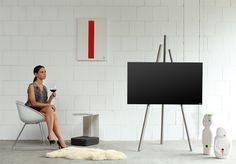 TV-Halter tripod art130 | Produktdesign | wissmann raumobjekte
