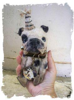 English bulldog clown- Whendi's Bears: dogs