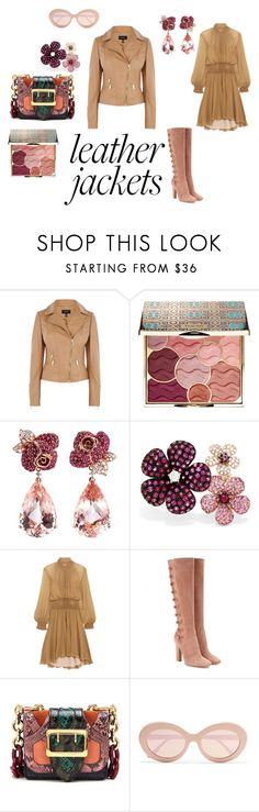 """""""Good afternoon, again... and again.. and again"""" by micettes on Polyvore featuring moda, Karen Millen, Sephora Collection, Anyallerie, Effy Jewelry, Chloé, Gianvito Rossi, Burberry e Sunday Somewhere"""