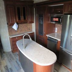 2015 New Winnebago Destination 37FL Fifth Wheel in Virginia VA.Recreational Vehicle, rv, Beautiful brand new 2015 Winnebago Destination 37FL fifth wheel. Very spacious layout with 5 slides, 42' in length and front living area. Entertainment area has three leather couches, 3D TV with Blueray player in a beautiful wooden cabinet, and fireplace with a radius front. Large kitchen, fully equipped with stainless steel appliances, plenty of beautiful counter space with island, and an Executive…