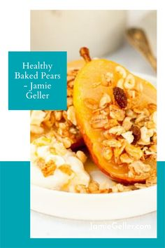 If you have room for dessert, and you don't want to bake, just cut up some pears and top with nuts and raisins. #glutenfree #dairyfree #dessert Non Dairy Desserts, Passover Desserts, Passover Recipes, Holiday Desserts, Gluten Free Recipes, Vegan Recipes, Dessert Recipes, Cooking Recipes, Food Terms