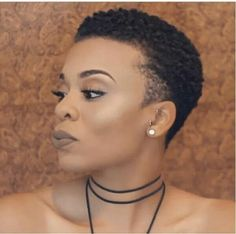 Simply Stunning Tapered Cut...See The Pros & Cons of The Big Chop Versus Transitioning to Natural Hair Here: http://www.naturalhairmag.com/pros-cons-big-chop-versus-transitioning/ IG:@the_femmefocus  #naturalhairmag