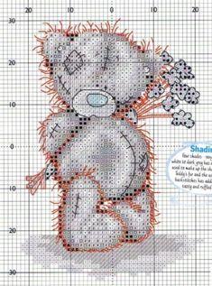 BEAR / Embroidery / Cross Stitch Schemes