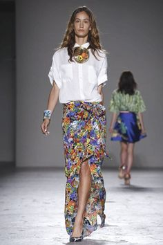 Stella Jean Ready To Wear Spring Summer 2015 Milan - NOWFASHION