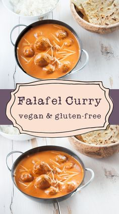 #Vegan and #glutenfree Falafel Curry | Elephantastic Vegan