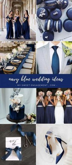 Most current Photo 57 Ideas wedding colors summer blue colour palettes navy Concepts Get wedding decor produced simple Whenever you arrange a wedding , you've to focus on the Budget a Blue Colour Palette, Blue Color Schemes, Wedding Color Schemes, Colour Palettes, Blue Colors, Navy Colour, Color Azul, Navy Blue Wedding Theme, Wedding Ideas Blue