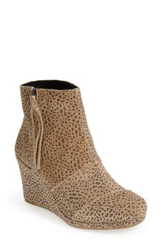 Cheetah booties for fall.