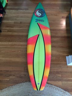 """Surfboards by Jacobs sticker decal hot rod surfing surf aloha maui 4.75/"""""""