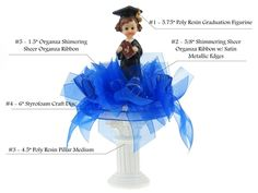Graduation Centerpiece #003. For more details, please visit our website www.lacrafts.com