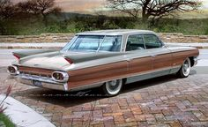 1961 Cadillac ''Woodie Sedan'' - also with a special rear window