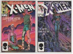 Uncanny X-Men V1 186 and 198 Life-Death I and by RubbersuitStudios #comicbooks #xmen