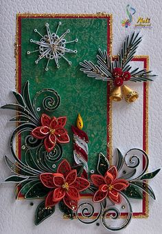*QUILLING ~ by:  neli: Preparation for Christmas _ # 7