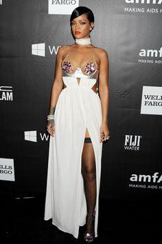 Rihanna at the Amfar Gala 2014