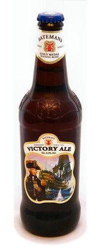 Cerveja Batemans Victory Ale, estilo Extra Special Bitter/English Pale Ale, produzida por Batemans Brewery, Inglaterra. 6% ABV de álcool.