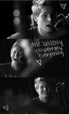 And suddenly you were my everything..