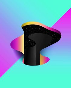 Surreal and Geometric iPhone Design Art