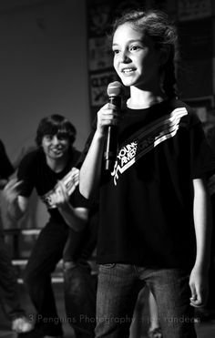 Young lady singing - © 3 Penguins Photography :: joe randeen