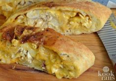 Philly Chicken Cheesesteak takes the classic sandwich and turns it into a Stromboli. Make it in your air fryer for a crispy dough with a warm and cheesy inside result. You can also bake in your oven. Make with steak or chicken but don't forget the special Air Fry Everything, Blue Jean Chef, Air Frying, Pasta, Pizza Dough, Pizza Pizza, Air Fryer Recipes, Main Meals, Fried Chicken