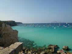"""""""Cala Rossa""""(Spiaggia), Favignana, Isole Egadi Sicilia"""