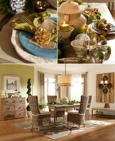 Favorite holiday table! Concord Eliza Multi Area Rug.#setthetable #mohawkhome #americanrugcraftsmen