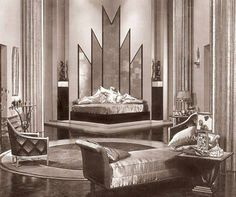 Jill Blake's Art Deco bedroom