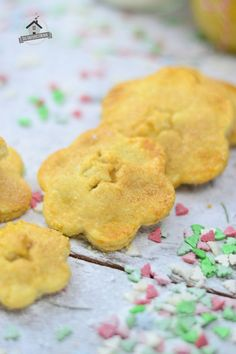 Geschenke aus dem Knusperstübchen: Bratapfel-Vanille-Kipferl-Pies | Das Knusperstübchen