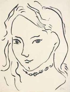 Henri Matisse (1869-1954) Portrait de Marguerite