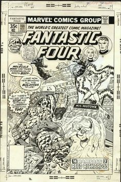 Fantastic Four #188 Cover Art by George Perez
