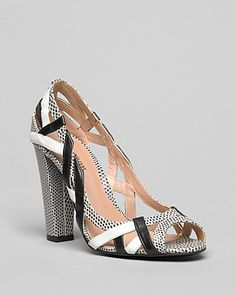 Delman Peep Toe Pumps - Dream High Heel | Bloomingdale's