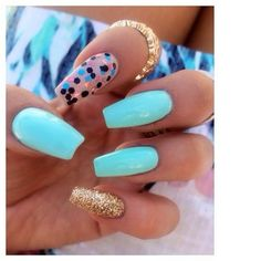 Like the colors but not the long nails