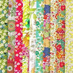 Liberty bright colour fat quarter selection pack
