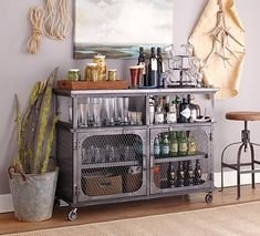 Industrial Mini Bar