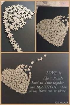 valentine decorations 473370610833606650 - Family as different as we all are we. valentine decorations 473370610833606650 - Family as different as we all are we fit together perfectly Source by Puzzle Piece Crafts, Puzzle Art, Puzzle Pieces, Valentines Bricolage, Valentine Day Crafts, Valentine Decorations, Easy Decorations, Decor Ideas, Gift Ideas