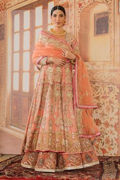 Pakistani Fashion Party Wear, Pakistani Formal Dresses, Pakistani Wedding Outfits, Indian Bridal Fashion, Anarkali Bridal, Indian Bridal Lehenga, Pakistani Bridal Dresses, Pakistani Dress Design, Dress Indian Style