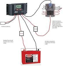 12 volt fuse box pinterest diagram, rv and airstream power converter wiring diagram 12v camper trailer wiring diagram google search