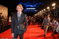Putting in an appearance: Director and Executive Producer Michael Bay was also in attendan...