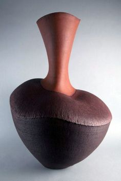 Ceramics by Wendy Hoare at Studiopottery.co.uk - Red pepper pot 2008.